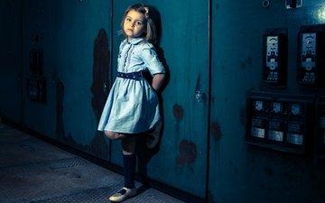 платье, девочка, электроприборы, fabienne van brabant