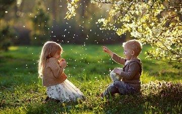 природа, дети, девочка, мальчик, vlada bylich, былич влада