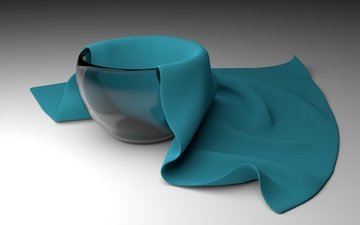 rendering, glass, vase