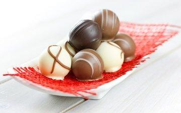 конфеты, шоколад, сладкое, десерт, шоколадные конфеты