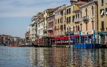 water, venice, channel, italy, the grand canal