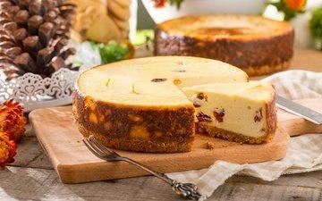 сладкое, выпечка, десерт, пирог, чизкейк, разделочная доска