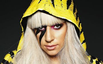 look, singer, makeup, hairstyle, hood, haircut, lady gaga