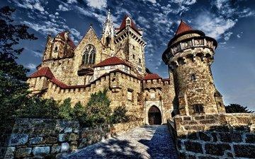 castle, the city