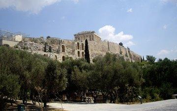 temple, greece, parthenon, acropolis, athens