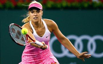 tennis, racket, the ball, sports wear, tennis player, sabine lisicki