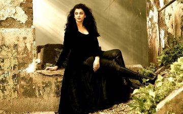 girl, brunette, look, hair, face, actress, aishwarya rai