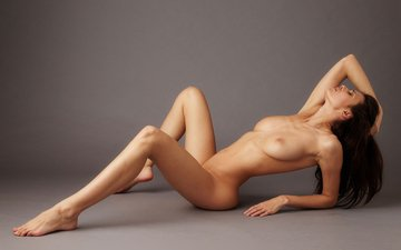 pose, brunette, naked, eros