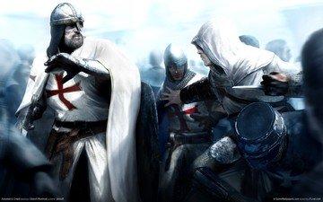battle, gothic, the battle, knights, krestonostsy, the middle ages, jerusalem