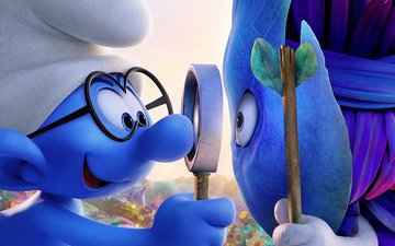 forest, cartoon, the smurfs, animation, smurfs-the lost village, the smurfs:the lost village, the smurfs: the lost village