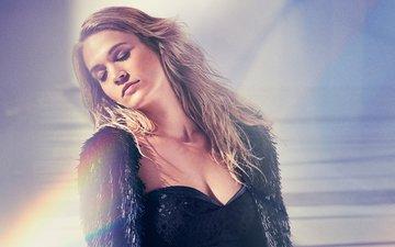 блондинка, певица, знаменитость, закрытые глаза, james macari, кэрри андервуд