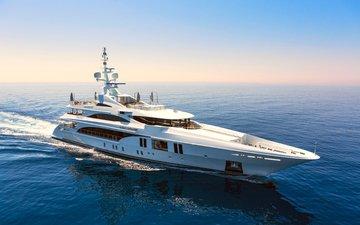 landscape, sea, yacht, 3