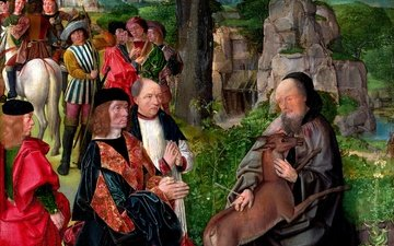 painting, classic, the middle ages, art