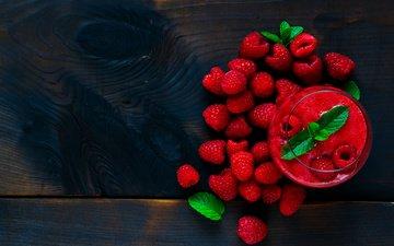 raspberry, smoothies