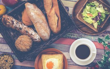 bread, baguette