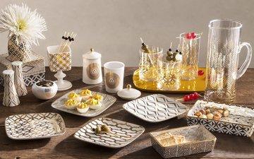еда, оливки, закуска, тосты, декор