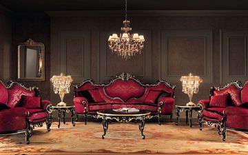 стиль, интерьер, дизайн, комната, мебель, гостиная, барокко