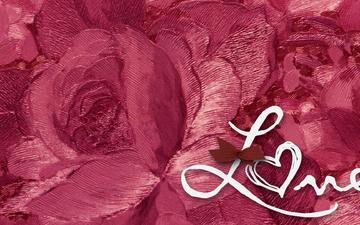 роза, влюбленная