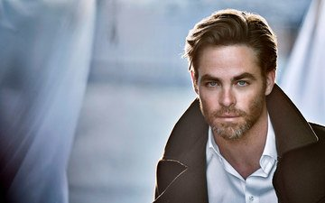 look, actor, face, male, celebrity, chris pine