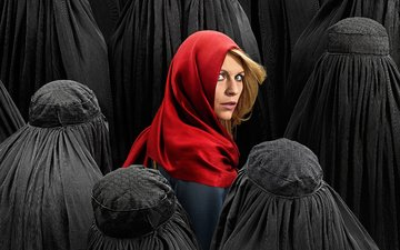 girl, look, hair, face, actress, the series, homeland, claire danes
