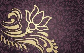 flower, pattern, ornament