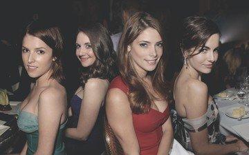 girls, celebrity, ashley greene, alison brie, anna kendrick, actress, camilla belle