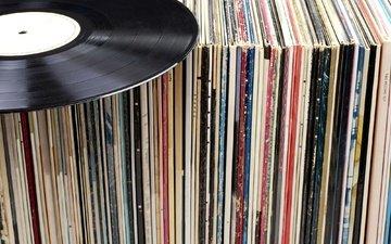 ретро, музыка, винил, пластинки, коллекция