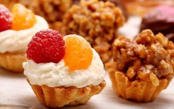 малина, сладости, 1, пирожное