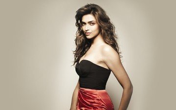 brunette, look, actress, deepika padukone