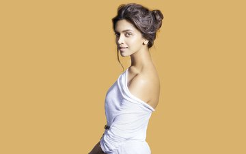 girl, look, hair, face, actress, deepika padukone