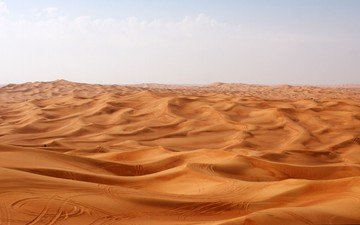 природа, пейзаж, песок, пустыня, сахара, дюна