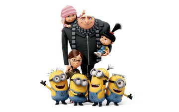 cartoon, girls, minions, despicable me 3