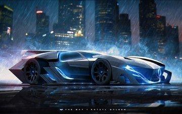 movie, glasses, batman, car, the dark knight, supercar, sports car, mark, vehicle, batmobile, screenshot, automotive design