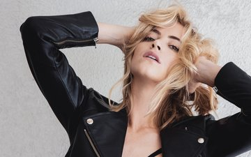 girl, blonde, look, hair, face, actress, kozhanka, emily wickersham