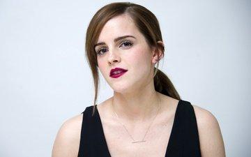 девушка, взгляд, модель, лицо, актриса, макияж, эмма уотсон