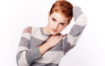 девушка, взгляд, модель, лицо, актриса, эмма уотсон