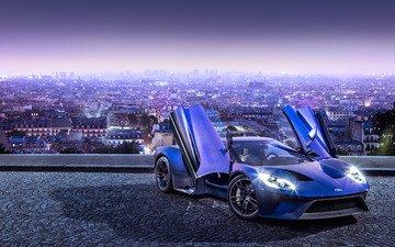 город, автомобиль, форд, concept, фон.jpg