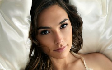 girl, look, model, hair, face, actress, gal gadot