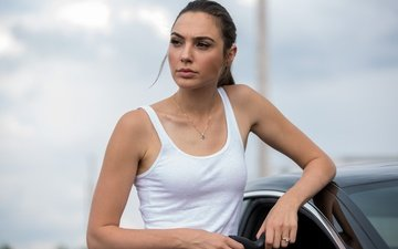 girl, look, hair, face, actress, gal gadot, the spy next door, keeping up with the joneses