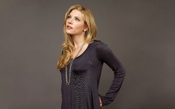 girl, blonde, look, hair, face, actress, katheryn winnick