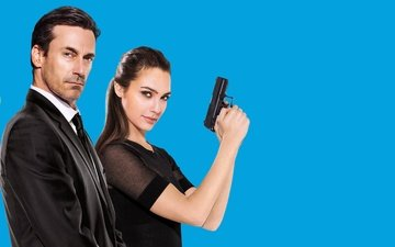 actors, gal gadot, jon hamm, the spy next door, keeping up with the joneses