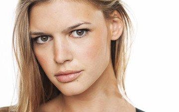 девушка, блондинка, взгляд, модель, волосы, лицо, актриса, келли рорбах