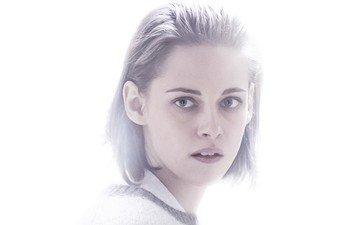 девушка, портрет, взгляд, кристен стюарт, волосы, лицо, актриса