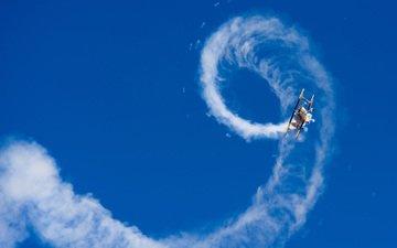 небо, самолет, авиация