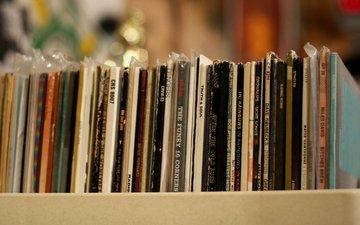 музыка, диски, коллекция, компакт-диск, фонотека