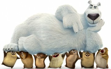 medved, anima, kuma, animated animated movie film, norm of the north, önorm