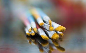 reflection, blur, brush, mazin alrasheed alzain