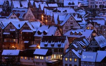 the city, germany, schiltach