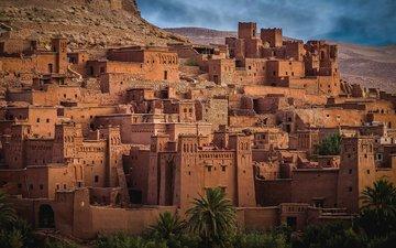the ruins, the city, old town, morocco, aït ben haddou