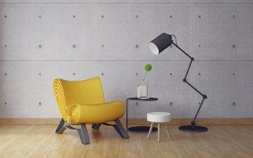 стиль, интерьер, дизайн, кресло, лофт